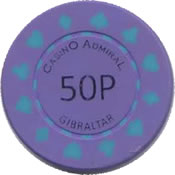 casino admiral gb P 50 chip anv