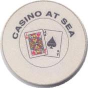 casino at sea 1$ chip anv
