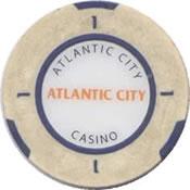 casino atlantic city $1 chip anv