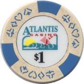 casino atlantis $1 chip anv