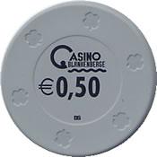 casino blanhenberge € 0,50 chip anv