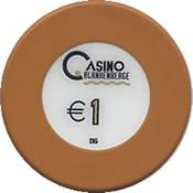 casino blanhenberge € 1 chip anv