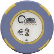 casino blanhenberge 2 € chip rev