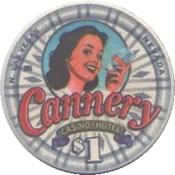 casino cannery $1 LV anv