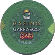 casino carrasco $25 chip anv