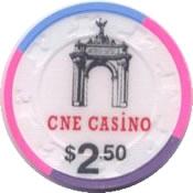 casino cne cdn $2,50 chip anv