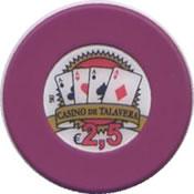 casino de talavera de la reina 2,5 € chip anv