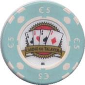 casino de talavera de la reina 5 € chip anv