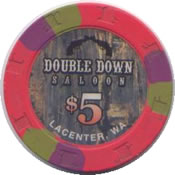 casino double down lacenter wa $ 5 chip anv