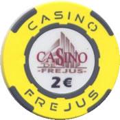 casino frejus 2 € chip anv