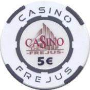 casino frejus 5 € chip anv