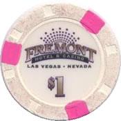 casino fremont LV $1 chip anv
