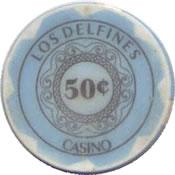 casino los delfines 50 cts chip anv