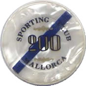 casino mallorca 200 Ptas jeton B dAz 35mm anv