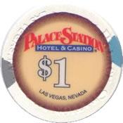 casino palace station LV $1 chip anv