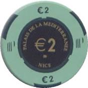 casino palais de la mesiterranee 2 € anv