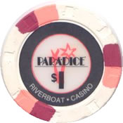 casino para dice est proria IL 1$ chip anv