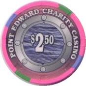 casino point edward charity cdn $2.50 chip anv