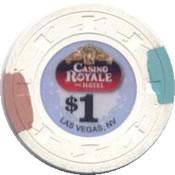 casino royale LV $1 chip anv