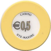 casino ste maxime 0,5 € chip anv