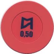 casinos del mar pullmantur 0,50 chip anv