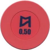 casinos del mar pullmantur 0,50 chip rev