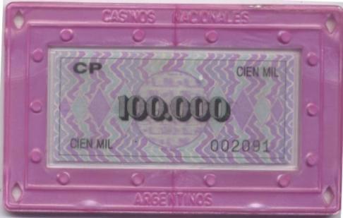 casinos nacionales argentina 100000 placa anv