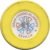 gran casino aljarafe 1 € chip rev