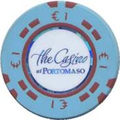 the casino portomaso malta € 1 chip anv
