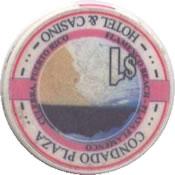 casino condado plaza PR $ 1 chip rev