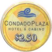 casino condado plaza PR $ 2,50 chip anv