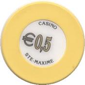 casino ste maxime 0,5 € chip rev