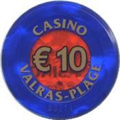 casino valras-plage € 10 jeton anv