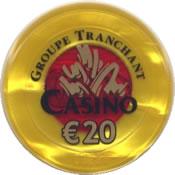 casino valras-plage € 20 jeton rev