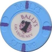 casino bally's LV $1 chip rev11