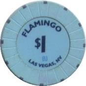casino flamingo LV 1$ chip anv