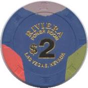 casino riviera LV $ 2 chip anv