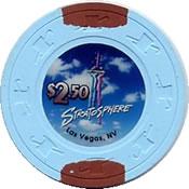 casino stratospher nv $ 2,50 chip anv