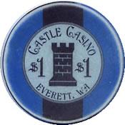 casino castle everett wa $ 1 chip 1 anv=rev