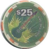casino hard rock albuquerque NM $25 chip anv