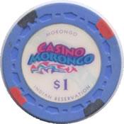 casino morongo seminola CA $1 anv