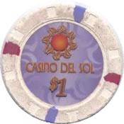 casino of the sun tucson AZ $1 chip 1 anv