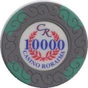 casino roraima 10000 Bs chip anv