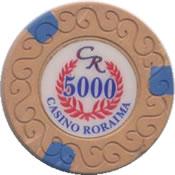 casino roraima 5000 Bs chip anv