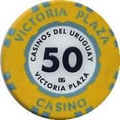 casinos de uruguay victoria plaza 50 chip CUA