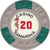 casino samarina quito 20 chip 1 anv=rev