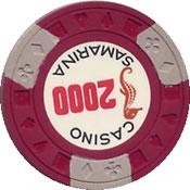 casino samarina quito 2000 Chip 1 rev