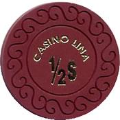 casino lina $ 0,50 chip 1 anv=rev