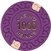casino reina's 1000 chip 1 anv=rev