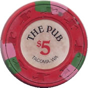 casino the pub tacoma $ 1 chip 1 anv